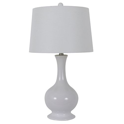 Decor Therapy Traverse Fluted Table Lamp
