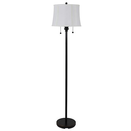 Decor Therapy Twin Pull Floor Lamp