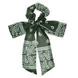 SO® Bandana-Print Bow Twister Hair Tie
