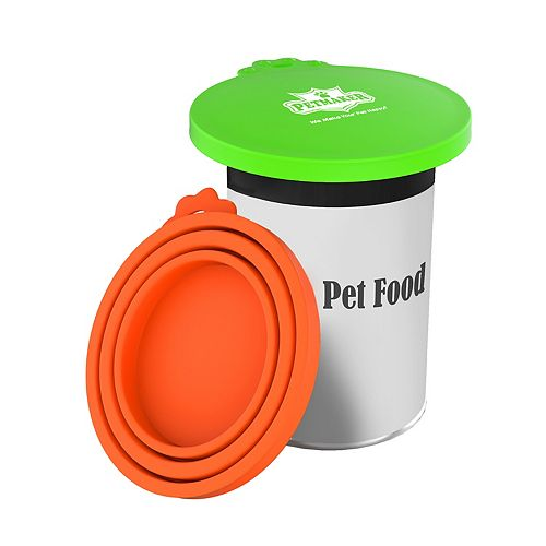 PetMaker Silicone Pet Food Can Covers