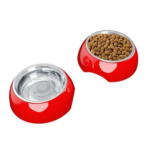 PetMaker 24-oz. Stainless Steel Pet Bowls 2-Piece Set