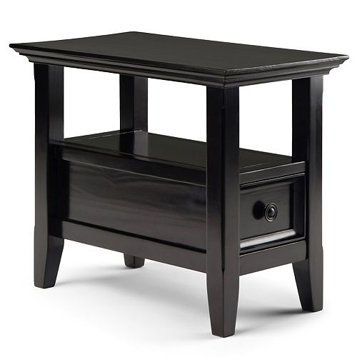 Simpli Home Amherst Rectangle End Table