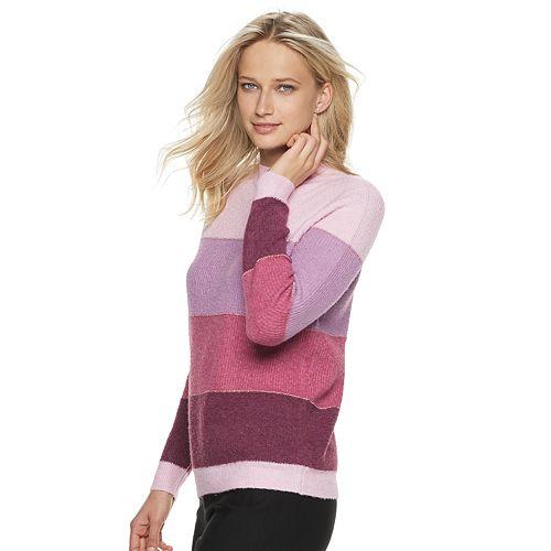 Women's ELLE™ Colorblock Sweater