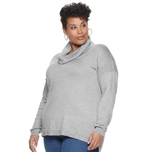 Plus Size Verve Ami Cowl Neck Tunic