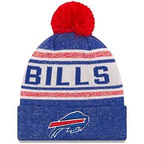 Youth New Era Royal Buffalo Bills Toasty Cover Pom Cuffed Knit Hat