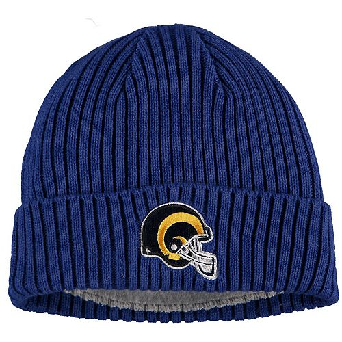 Toddler New Era Royal Los Angeles Rams Core Classic Knit Hat