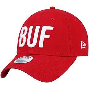 Women's New Era Red Buffalo Bills Team Hometown 9TWENTY Adjustable Hat