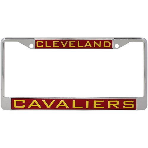 WinCraft Cleveland Cavaliers Laser Inlaid Metal License Plate Frame