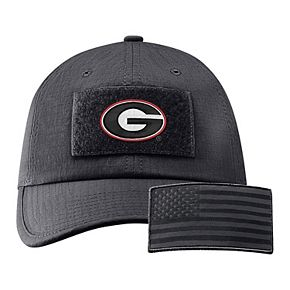 Men's Nike Anthracite Georgia Bulldogs Tactical Heritage 86 Team Performance Adjustable Hat