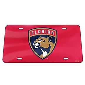 WinCraft Florida Panthers Crystal Mirror License Plate