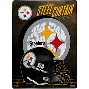 The Northwest Company Pittsburgh Steelers 60'' x 80'' State Pride Throw Blanket