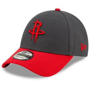 Men's New Era Graphite Houston Rockets League 9FORTY Adjustable Hat
