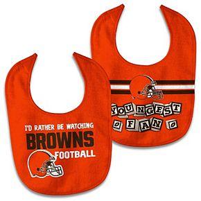 Newborn & Infant WinCraft Cleveland Browns 2-Pack Bib Set