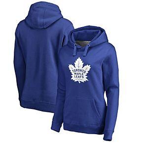 Women's Fanatics Branded Blue Toronto Maple Leafs Primary Logo Pullover Hoodie