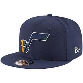 Men's New Era Navy Utah Jazz Official Team Color 9FIFTY Adjustable Snapback Hat