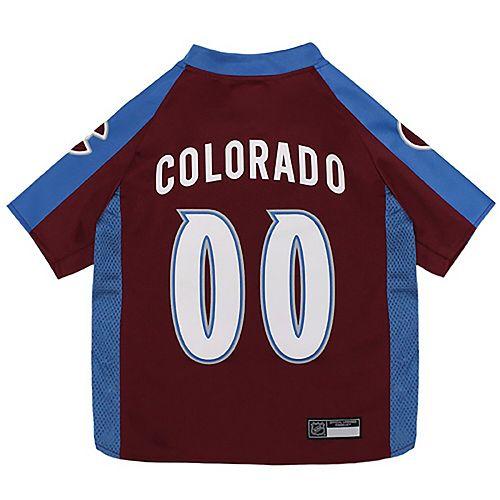 Colorado Avalanche Mesh Hockey Dog Jersey