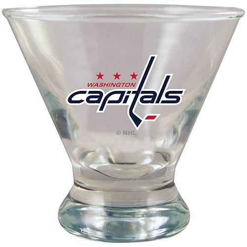 Washington Capitals Martini Glass