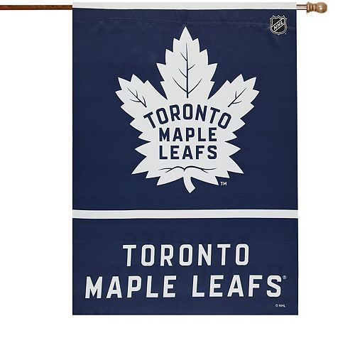 """Toronto Maple Leafs WinCraft 28"""" x 40"""" Two-Sided Vertical Flag"""
