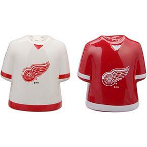 Detroit Red Wings Gameday Ceramic Salt & Pepper Shakers - White/Red