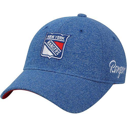 Women's adidas Blue New York Rangers Team Adjustable Slouch Hat