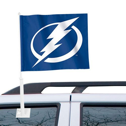 """Tampa Bay Lightning WinCraft 11"""" x 13"""" Two-Sided Car Flag"""