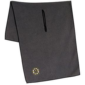 """Boston Bruins 19"""" x 41"""" Gray Microfiber Towel"""