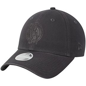 Women's New Era Graphite Boston Celtics Tonal Core Classic 9TWENTY Adjustable Hat