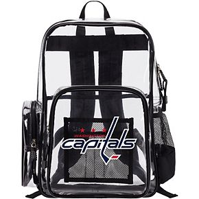 The Northwest Company Washington Capitals Dimension Clear Backpack