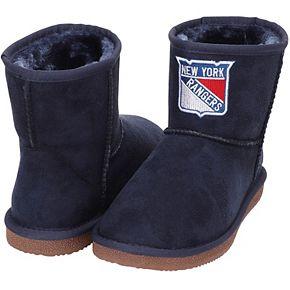 Women's Cuce Navy New York Rangers The Rookie Mini Boots