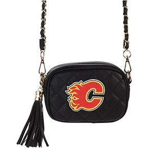 Women's Cuce Calgary Flames Safety Stadium Compliant Crossbody