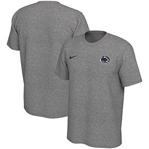 Men's Nike Heathered Gray Penn State Nittany Lions Left Chest Logo Legend T-Shirt