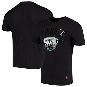 Men's Black Oklahoma City Thunder City Landmark T-Shirt
