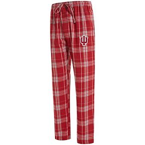 Men's Concepts Sport Crimson Indiana Hoosiers Big & Tall Hillstone Flannel Pants