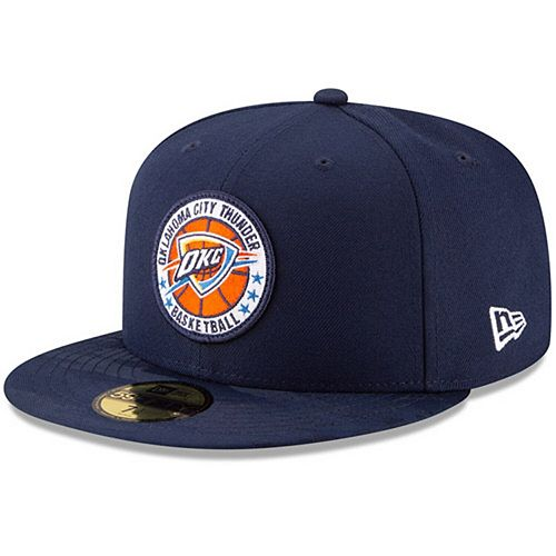Men's New Era Blue Oklahoma City Thunder 2018 Tip-Off Series 59FIFTY Fitted Hat