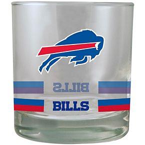 Buffalo Bills Banded Rocks Glass