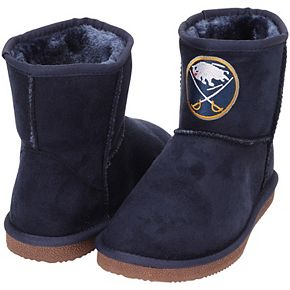 Women's Cuce Navy Buffalo Sabres The Rookie Mini Boots
