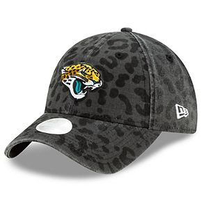 Women's New Era Black Jacksonville Jaguars Vintage Pretty 9TWENTY Adjustable Hat