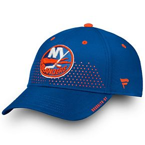 Men's Fanatics Branded Royal New York Islanders 2018 Draft Flex Hat