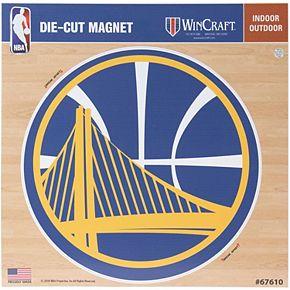 """Golden State Warriors 12"""" x 12"""" Car Magnet"""