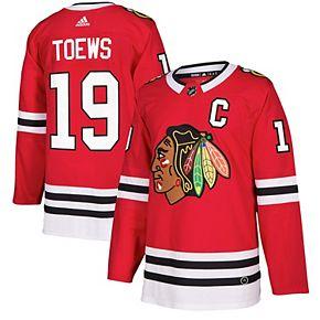 Men's adidas Jonathan Toews Red Chicago Blackhawks Authentic Player Jersey