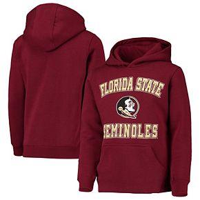 Youth Garnet Florida State Seminoles Big Bevel Pullover Hoodie