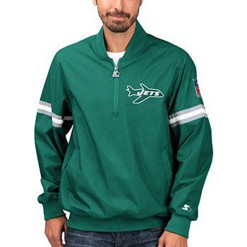 Starter Mens Throwback Half-Zip Pullover Jacket Exclusive
