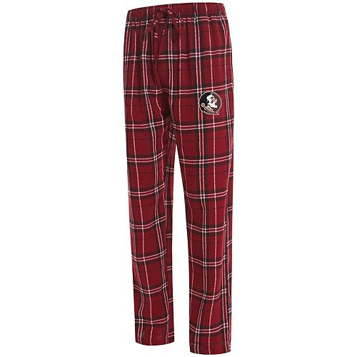 Men's Concepts Sport Garnet Florida State Seminoles Big & Tall Hillstone Flannel Pants