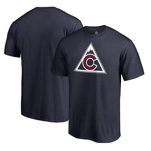 Men's Fanatics Branded Navy Colorado Avalanche Team Alternate T-Shirt
