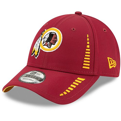 Youth New Era Burgundy Washington Redskins Team Logo Speed 9FORTY Adjustable Hat