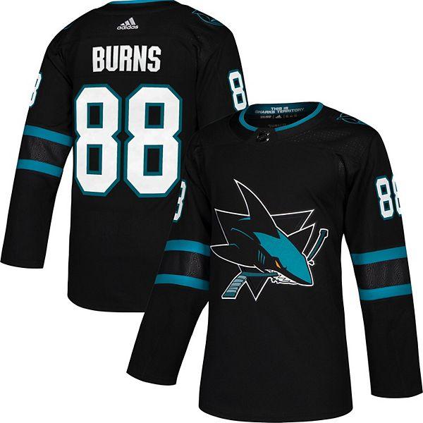 Men's adidas Brent Burns Black San Jose Sharks Alternate Authentic Player Jersey