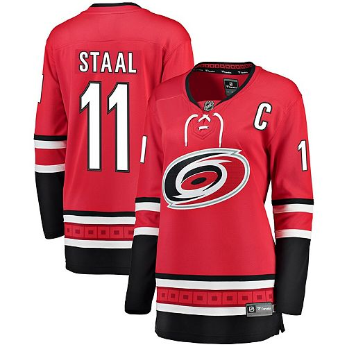 Women's Fanatics Branded Jordan Staal Red Home Breakaway Player Jersey