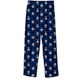 Preschool Navy Winnipeg Jets Team Logo Printed Pajama Pants