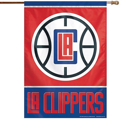 "WinCraft LA Clippers 28"" x 40"" Primary Logo House Flag"