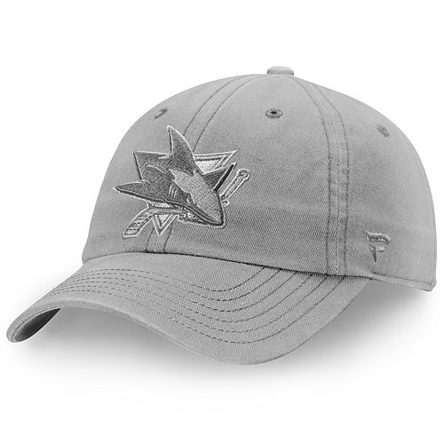 Women's Fanatics Branded Gray San Jose Sharks Color Hue Fundamental Adjustable Hat
